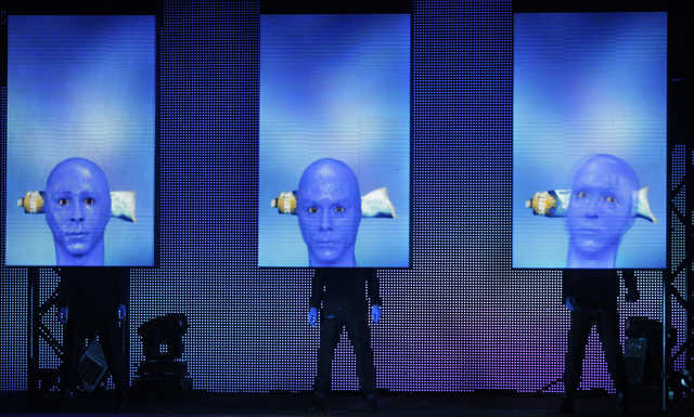 Musical Group Names Blue Man Group at The Music