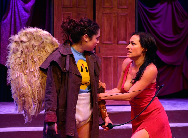 "Daria LeGrand, left, a non-Equity actress, performed with Equity member Vanessa Severo in ""The Death of Cupid."""