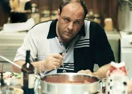 James Gandolfini as Tony Soprano. (HBO)
