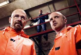 "Bryan Cranston and Aaron Paul in ""Breaking Bad"" (AMC)"